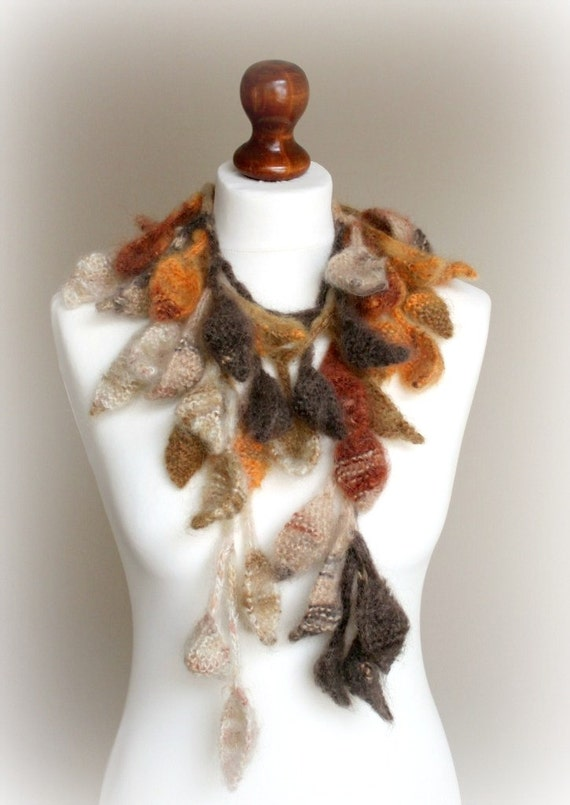 Scarf Thousand leaves