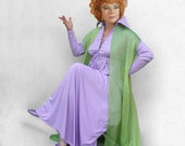 green overdress only, partial Endora costume, made to order, custom fitted, Bewitched classic TV witch