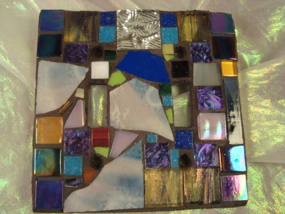 MOSAIC Switch Plate Cover - DOUBLE Multicolor