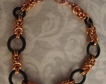 Byzantine and Rubber Bracelets