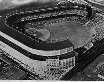 Yankee Stadium, 1930s - 40's, 12x18 Inch Photographic Print