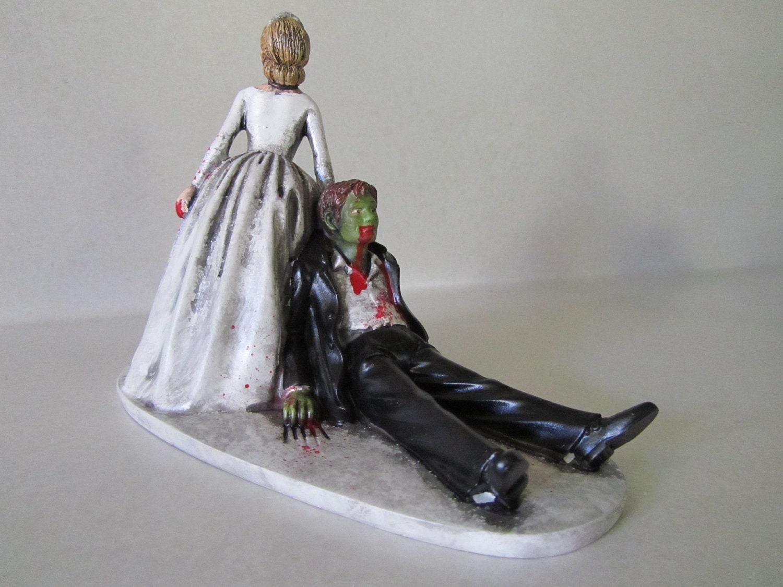 Zombie Wedding Custom Cake Topper