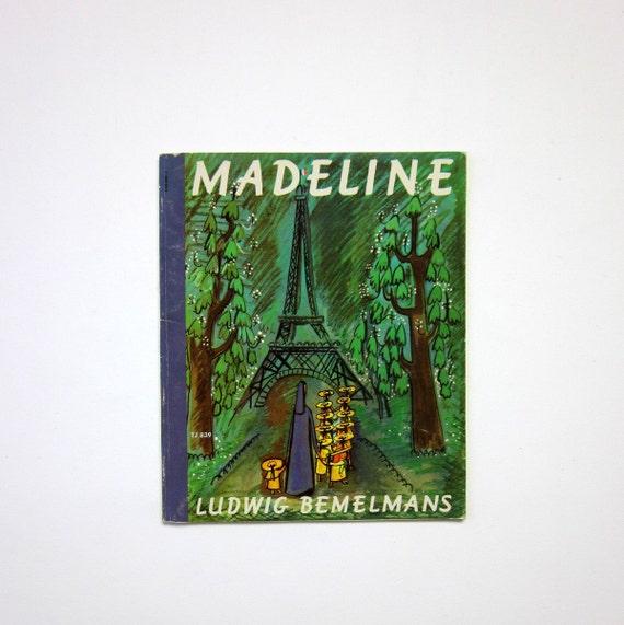 Madeline by Ludwig Bemelmans 70s / Paperback