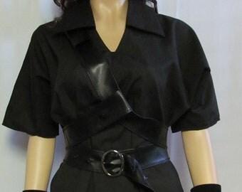 Dark Link Legend of Zelda Black Tunic Cosplay Costume Men's Women's Size S M L XL