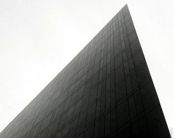 Modern Architecture, Liverpool UK - Black and White Fine Art Photograph - Gallery Standard Wall Art, Selectable Sizes and Mounting Options