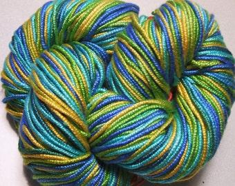 100% Pure Mulberry Lyba Silk Yarn 50 gram 4 Ply DK LS002 Summer Lot B