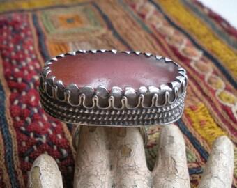 Antique Carnelian Silver Ring