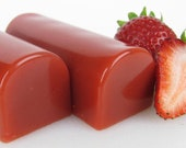 Strawberry Caramel 1/2 lb. Uncut Bars