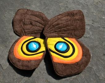 Wearable Io Moth Wings for Little Nocturnal Fliers