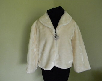 Bridal Wrap Ivory WeddingJacket