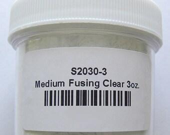 Thompson Enamel, 2030 Medium Fusing Clear Transparent, 3 oz.