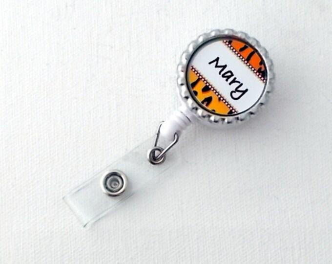 Personalized ID Badge Reel - Name Badge Holder - Nursing Badge - Teacher Badge Holder - Gift Under 10 - Nurse Badge Clip
