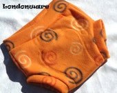 Orange Dream  Fleece Diaper Cover