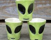 Alien Shot Glasses - Ready to Ship