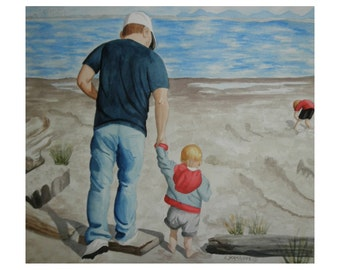 Me and My Daddy - Limited Edition Print