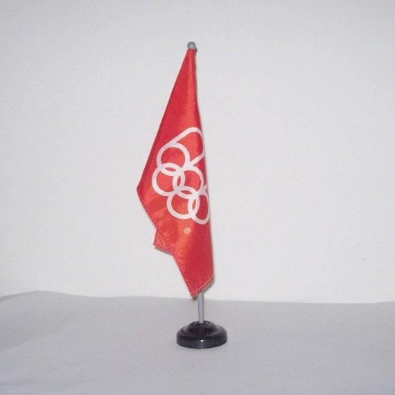 Montreal Olympics Flag 1976 Summer Olympiad Table