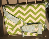 Matching Zipper Pouch and Key Fob