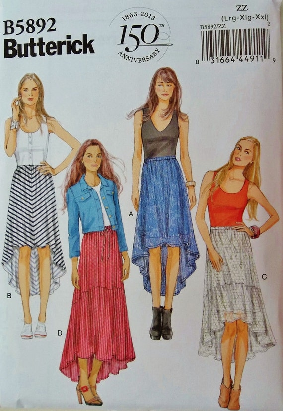 hi low skirt pattern pull on skirts pattern easy skirts