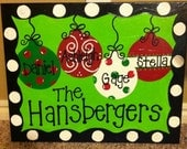 Thanksgiving and Christmas Door banners