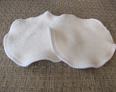Organic Bamboo Re-Usable Nursing Pads - Light - 1 Set