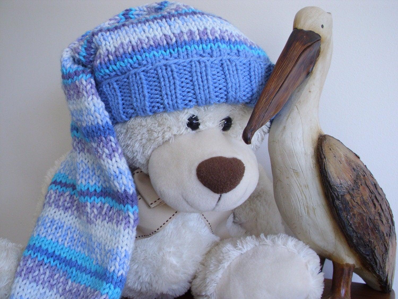 Long Knit Stocking Cap 18