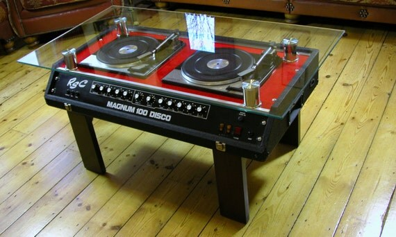Twin Decks retro Coffee table