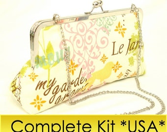 Le Jardin Complete 10 inch clutch kit: everything including GLUE for USA customers