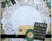 """Last One! Bingo 12x12 """"tammy i"""" Specialty PreMade Page"""