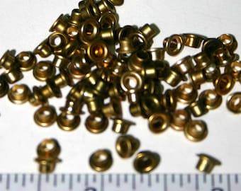 1/8 inch Round Aluminum Eyelets