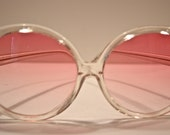 Vintage Sunglasses Large Lenses