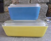 Pyrex Primary Color Refrigerator Dishes