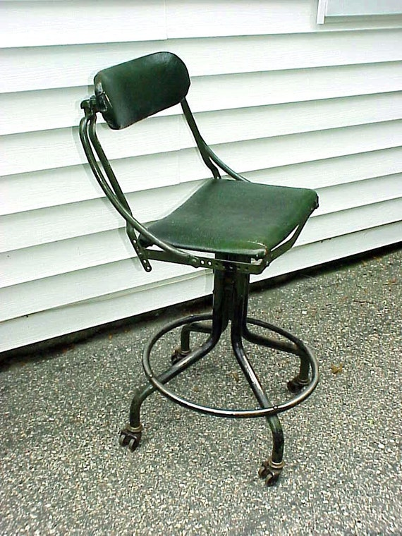 sale vintage 1920s domore industrial machine age swivel office chairs for sale