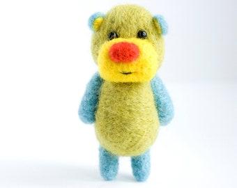 Colourful pocket bear