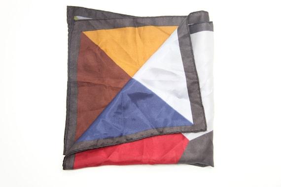 vintage square scarf