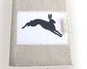 Sketch Book Cover Hare Gift Christmas Artist Student Women Girl Xmas Gift