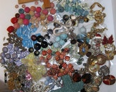 Reserved for AMY Bulk Vintage Beads, Chains, Pendants, and other items FREE SHIP