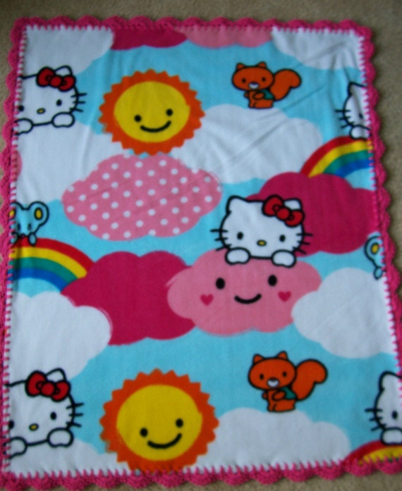 Crochet Pattern For Hello Kitty Baby Blanket : Unavailable Listing on Etsy