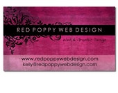 Premade Business Card Design, Digital Business Cards, Vintage Grunge Pink Black, Print at Home or Online Business Card Template