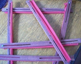Six Piece Quilting Stretcher Frame for Pillow Tops