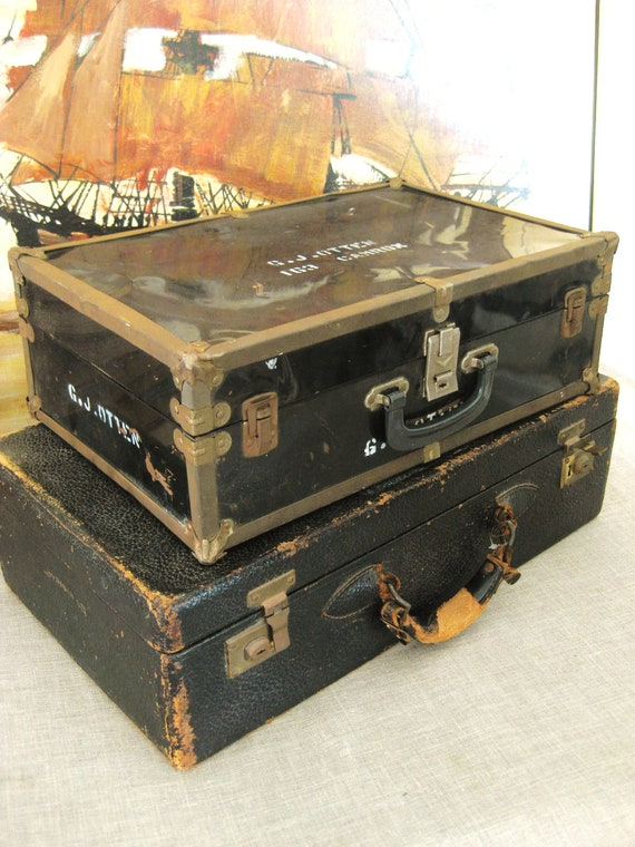 Antique Travel Case - Classic Vintage