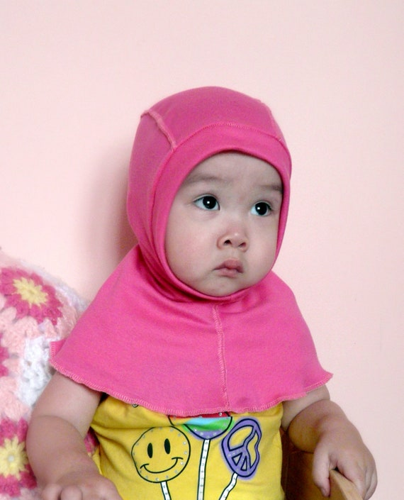 NEW --- Knit Balaclava (Helmet) Coverall Hat. Suitable for 8 months to 5 years old children.