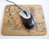 Tolkien Map of Middle Earth Mousepad