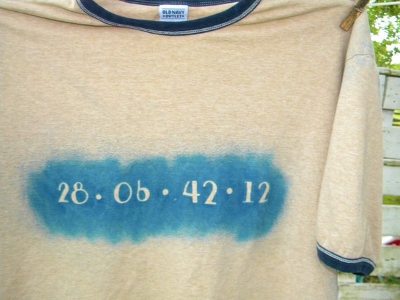 Donnie Darko End of the World   Upcycled T Shirt or Tank Top X Large