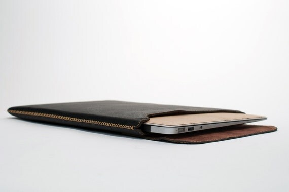 "Leather Sleeve for MacBook Air 11"" (Top Closing)"