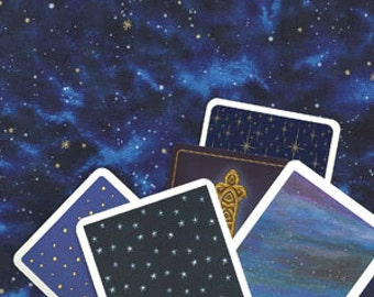 Galaxies Celestial Cloth for Tarot or Altar