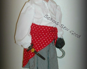 Girl's Pirate Costume for  Toddler or Child
