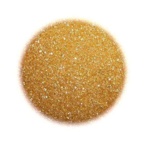 Cake Decorating Gold Sprinkles : GOLD SANDING SUGAR Edible Sprinkles Cake Cookie by ...