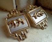 Cougar Earrings