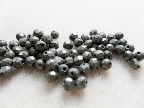 Gemstone Beads, Large Pyrite Gemstone Faceted Hexagonal Rondelle Bead   5mm  28pcs