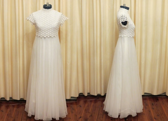 """RESERVED FOR ANGIE Vintage Antique Greigs Sydney """"Anne's Wedding Dress"""" with Victorian Petticoat"""